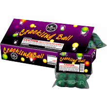 Cracking Balls Box - Dragon Eggs - Ground Spinners - Novelties - Fireworks