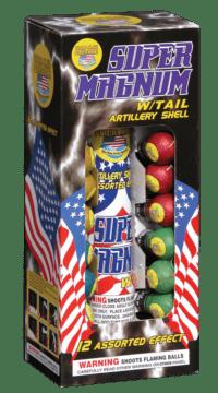 Super Magnum with Tail - Reloads - Reloadables - Mortars - Fireworks