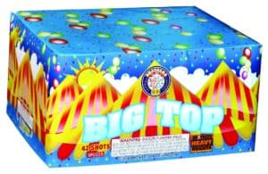 Big Top - 42 Shots - 500 Gram Aerials - Fireworks