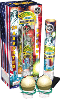 Liberty Artillery Shells - Reloads - Reloadables - Mortars - Fireworks