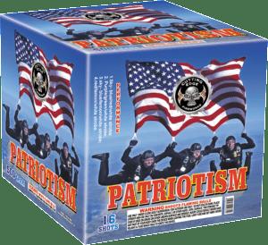 Patriotism - 16 Shots - 500 Gram Aerials - Fireworks