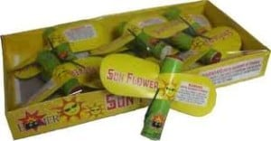Large Sunflower - Sky Flyer - Helicopter - Fireworks