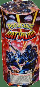 Parachute Battalion - Parachutes - Fireworks