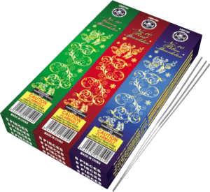Colored Sparklers - Red Green Blue - 10 Inch - 96 - Sparklers - Novelties - Fireworks
