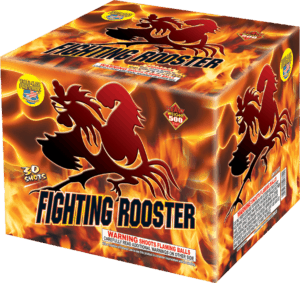 Fighting Rooster - 30 Shots - 500 Gram Aerials - Fireworks