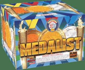 Medalist - 30 Shots - 500 Gram Aerials - Fireworks