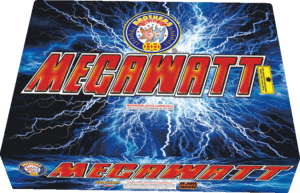Megawatt - 295 Shots - 500 Gram Aerials - Fireworks