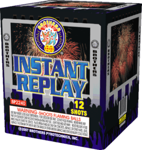Instant Replay - 12 Shots - 200 Gram Aerials - Fireworks