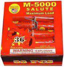 M-5000 Salute - M5000 - Firecrackers - Fireworks