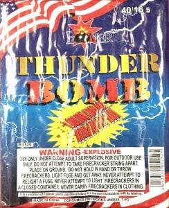 40/16 Brick - Firecrackers - Fireworks - Half Brick