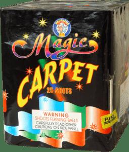 Magic Carpet - 25 Shots - 200 Gram Aerials - Fireworks