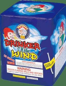 Drinker Of The Wind - 25 Shots - 200 Gram Aerials - Fireworks