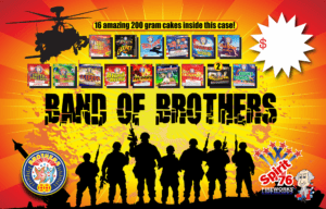 Band Of Brothers - Assortments - Fireworks