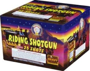 Riding Shotgun - 25 Shots - 500 Gram Aerials - Fireworks