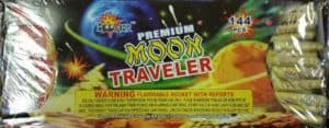 Moon Travelers With Report - Rockets - Bottle Rockets - Stick Rockets - Fireworks