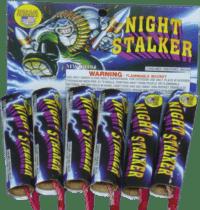 Night Stalker - Rockets - Bottle Rockets - Stick Rockets - Fireworks