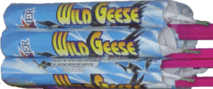 Wild Geese - Rockets - Bottle Rockets - Stick Rockets - Fireworks